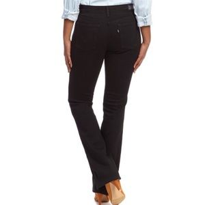 Levi's 515 Black Ink High-rise Bootcut Jeans